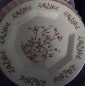 Nasco Vintage Dishes,Prairie Flowers,Soup Plates